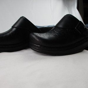 Klogs USA Women's Size 9 W Austin Black Clogs #460